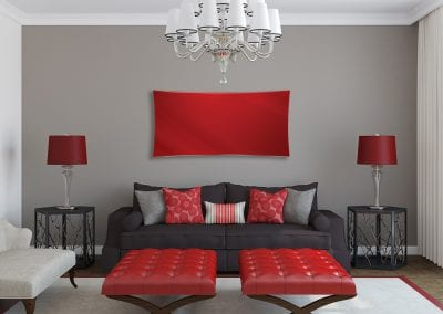 Tintagel Red in Red Living Room - Copy