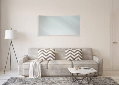 Tintagel Silver in Living Room